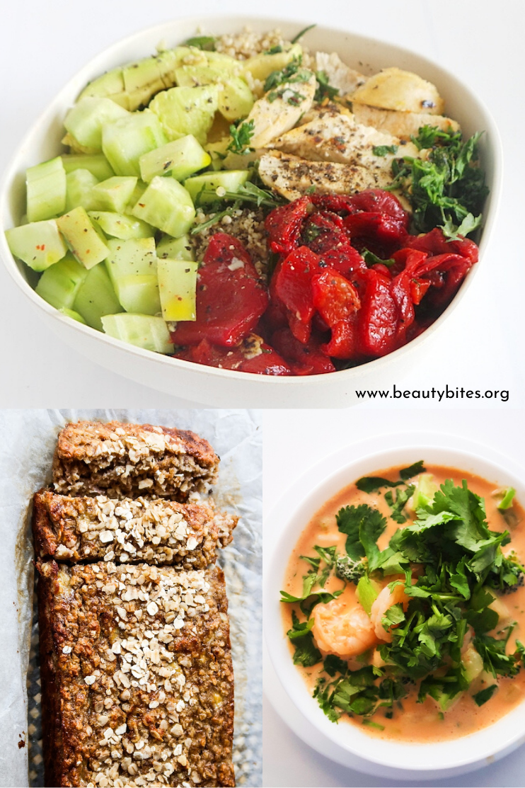 7 day no sugar challenge day 3 - healthy meal plan and grocery list