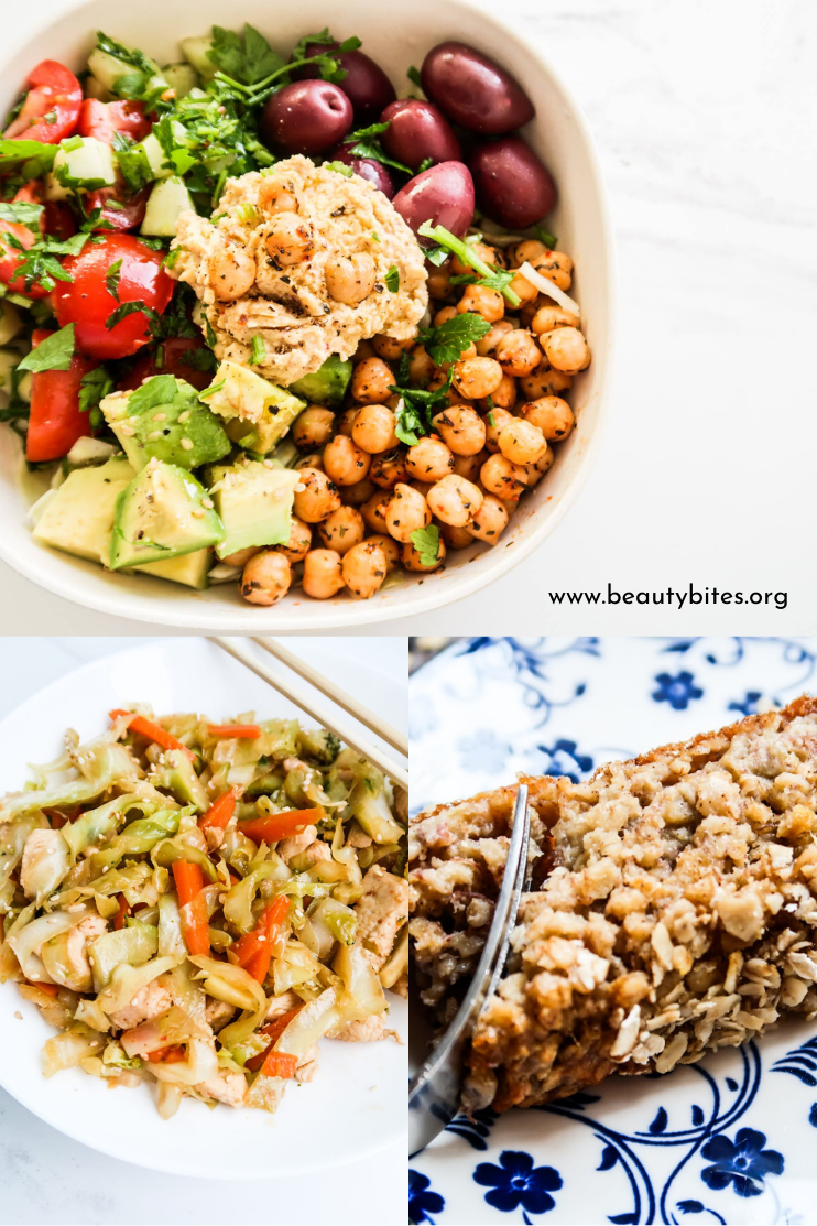7 day no sugar challenge day 4 - healthy meal plan and grocery list