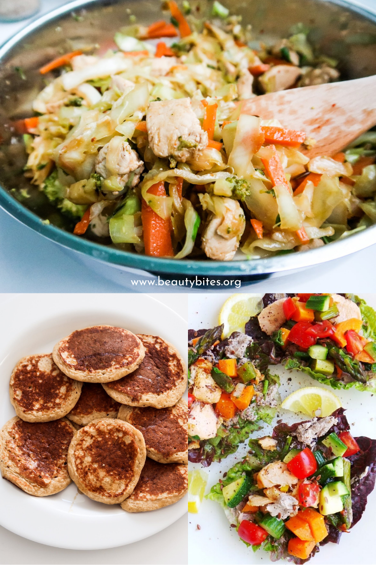 7 day no sugar challenge day 5 - healthy meal plan and grocery list