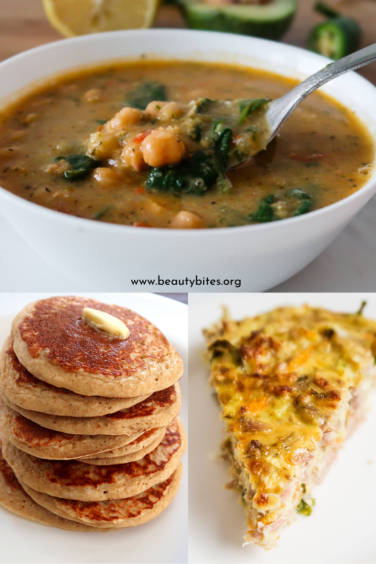 7 day no sugar challenge day 7 - healthy meal plan and grocery list