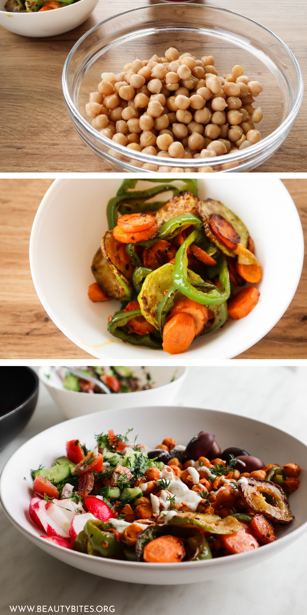 Try these spicy roasted vegetable healthy lunch bowls, they're are absolutely delicious! This is a wonderful healthy lunch idea that will fill you up, is full of flavor, gluten free dairy free and vegan!