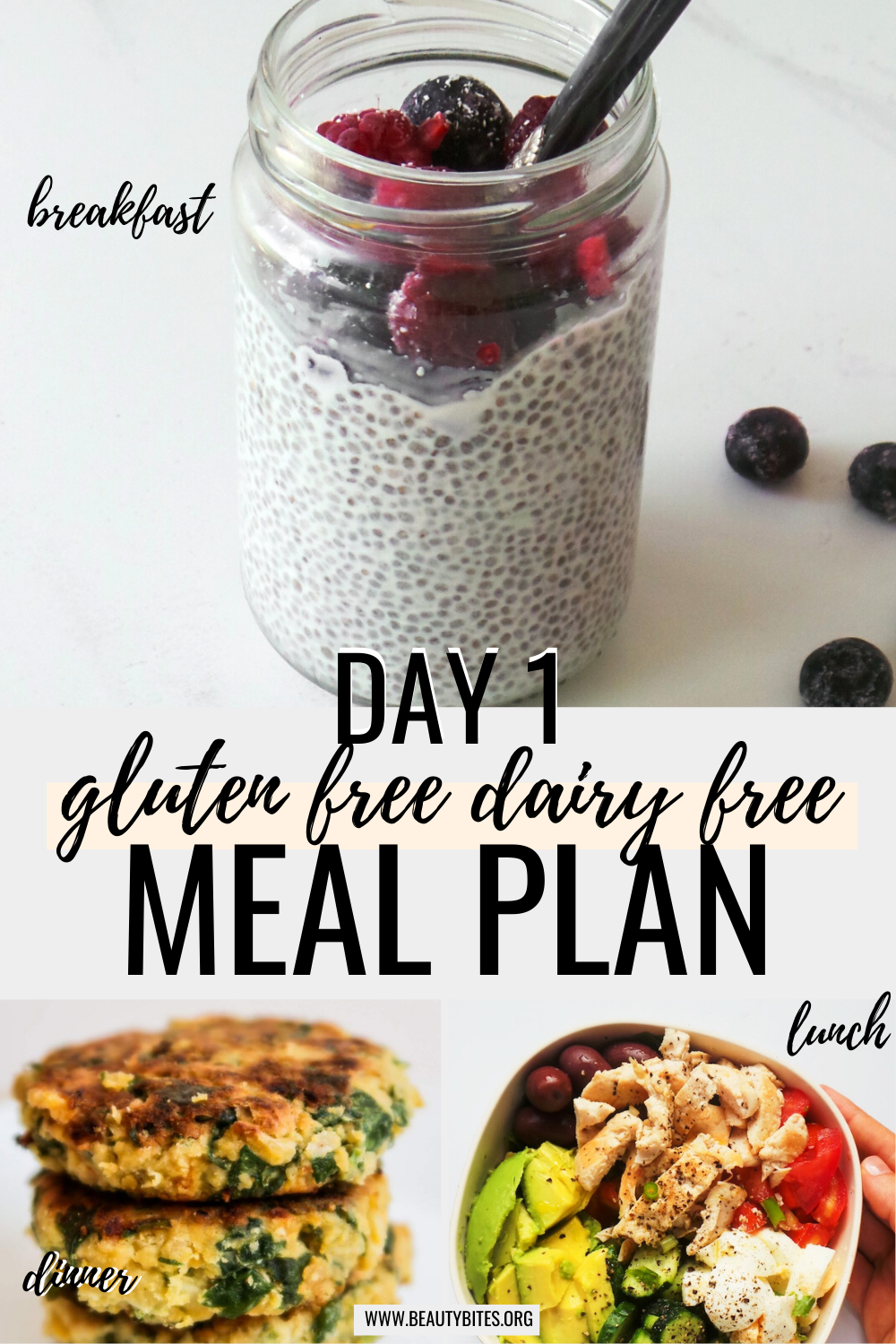 gluten free dairy free meal plan with clean eating recipes day 1