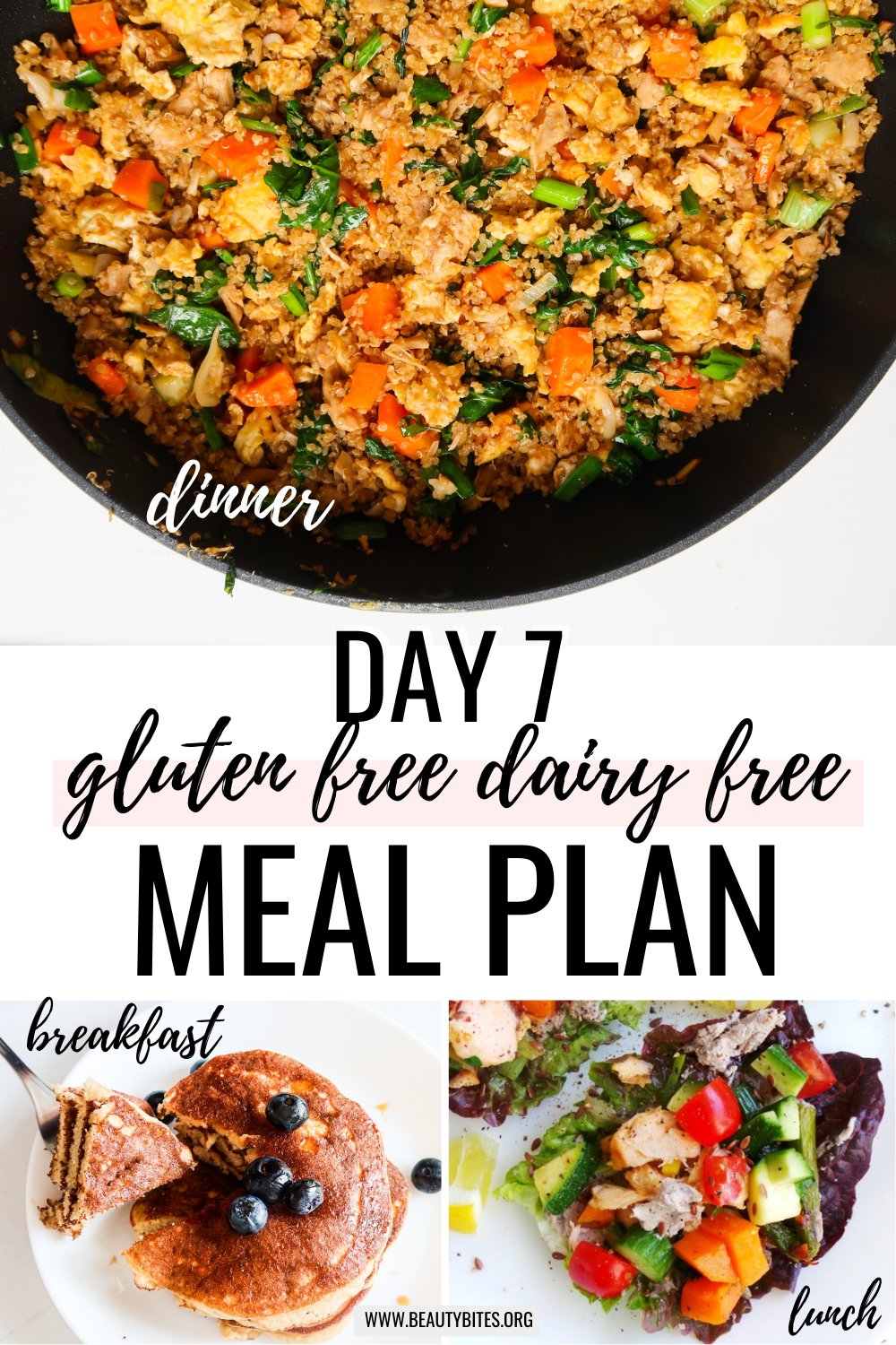 gluten free dairy free meal plan with clean eating recipes day 7