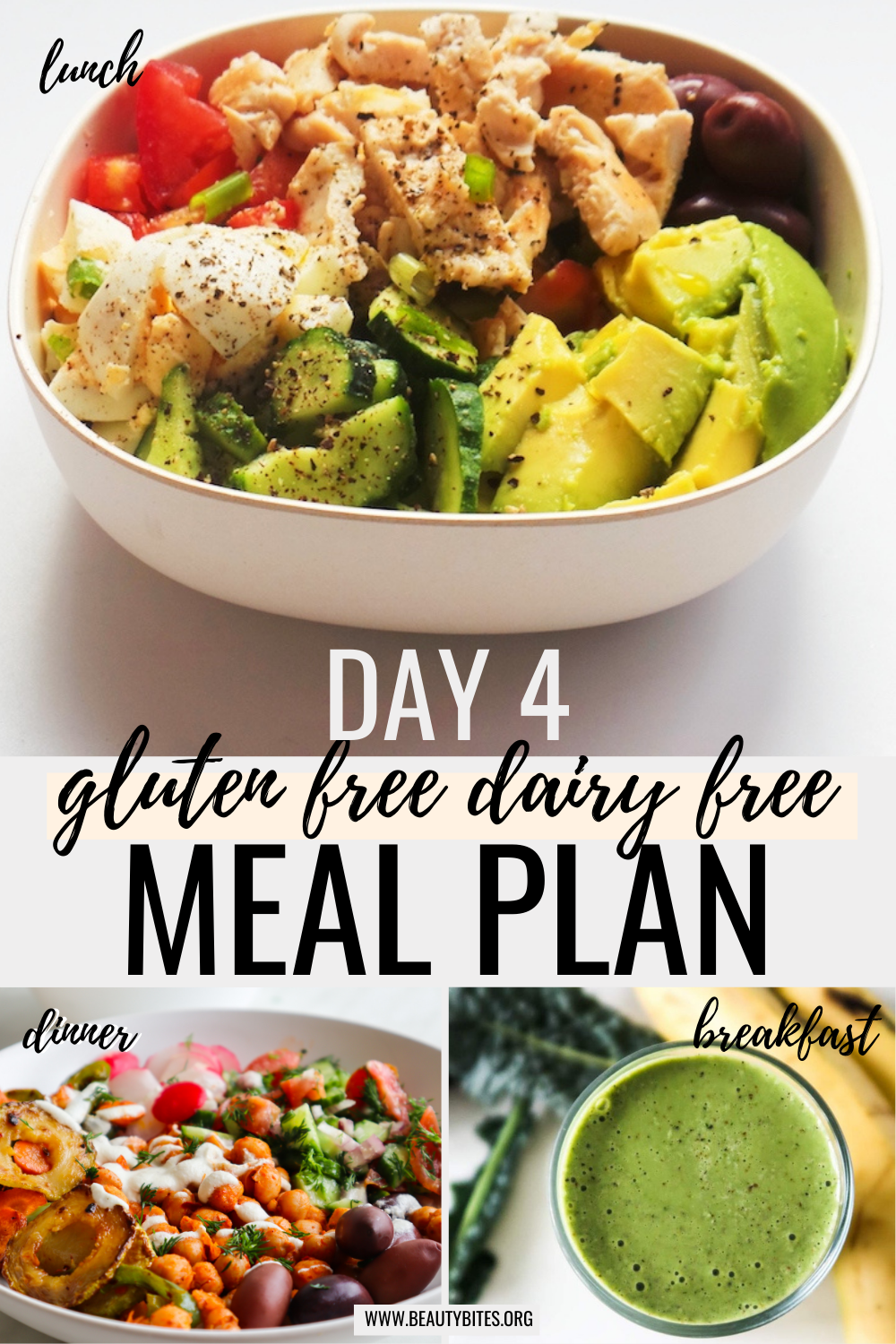 gluten free dairy free meal plan with clean eating recipes day 4