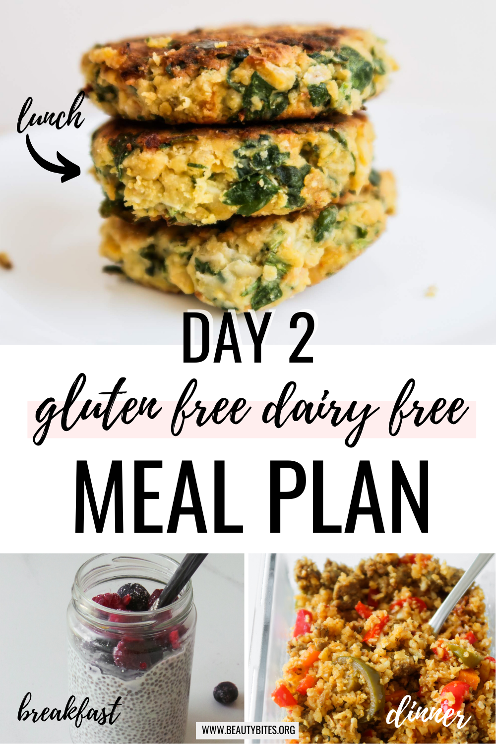 gluten free dairy free meal plan with clean eating recipes day 2