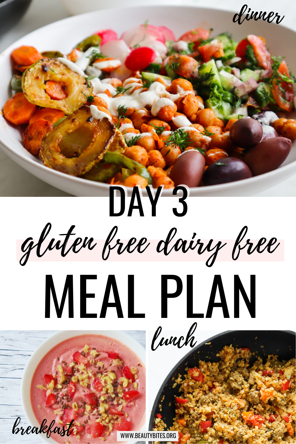 gluten free dairy free meal plan with clean eating recipes day 3