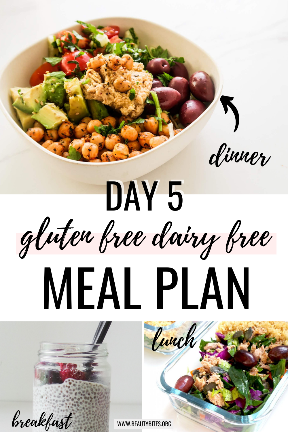 gluten free dairy free meal plan with clean eating recipes day 5
