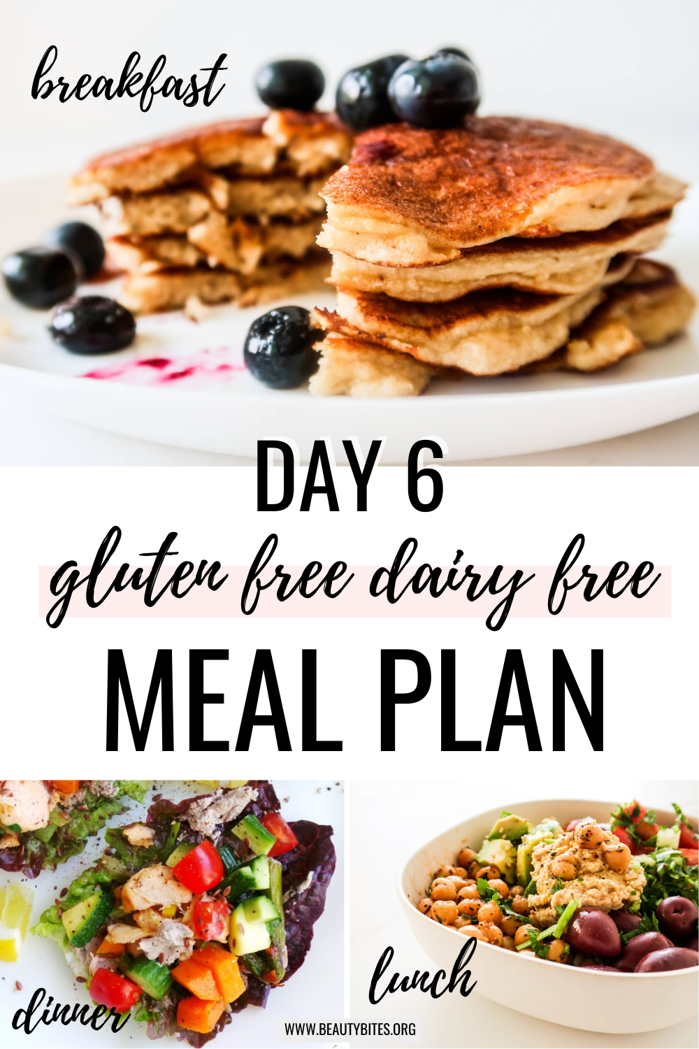 gluten free dairy free meal plan with clean eating recipes day 6