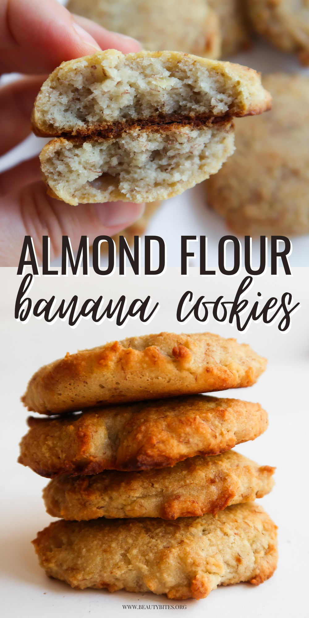 These almond flour banana cookies are a super tasty treat! This is a remarkably easy and healthy cookie recipe that is made with a few basic ingredients, is vegan, paleo and a great healthy snack or breakfast too. You just have  to make these delicious vegan cookies!